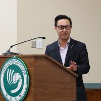 Opening Ceremony: MLA Thomas Dang