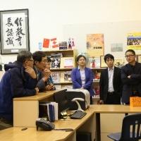 Delegates Visited CIE