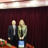 The CIE Delegates Visited Shandong Province