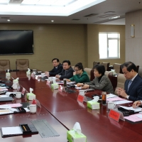 Meeting with Shandong Provincial Education Department
