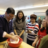 ACLTA's Dumpling Party at CIE