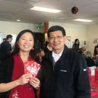 Chinese New Year Celebration at Edmonton Service Centre