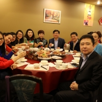 Consul Yu and CIE Visiting Teachers Celebrate Chinese New Year Together