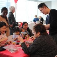 Chinese New Year Celebration at Edmonton Tower