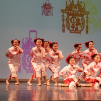Chinese Cultural Experience Gala: Paper-Cutting Girls