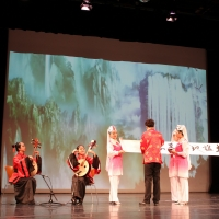 Chinese Cultural Experience Gala: Calligraphy Accompanied by Zhong Ruan
