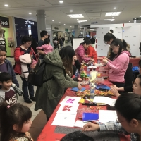ECBEA Chinese New Year of the Rat Celebration at Bonnie Doon Mall