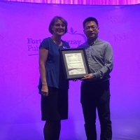 CIE Received Partner of the Year from Fort McMurray Public School District