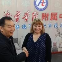 Principals Delegation Trip to China 2015: Jining