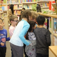 Dovercourt School Students Visited the CIE Library