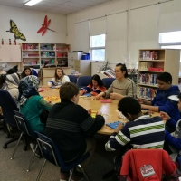 Chinese Culture Day for Edith Rogers School Students
