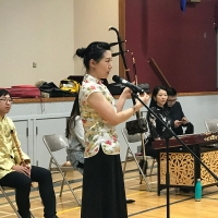 Chinese Musicians Perform at Confucius Classrooms