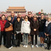 Principal Delegation from Confucius Classrooms in Beijing in October, 2014