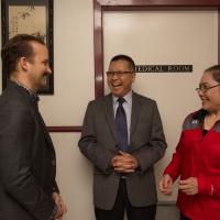Mr. Alexandre Trudeau Visited the CIE, April 7, 2017
