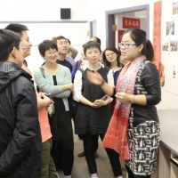 The Delegation from China Universities Visited CIE on Nov 19, 2014