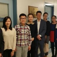 The Delegation from Confucius Institute at the University of Saskatchewan Visited Meyonohk School