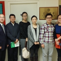 The Delegation from Confucius Institute at the University of Saskatchewan Visited Ottewell School