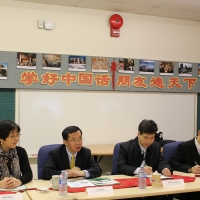 Mr. Lu Shaye, Chinese Ambassador to Canada, Visited CIE, October 26, 2017