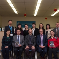 Mr. Alexandre Trudeau Visited the CIE, April 7, 2017
