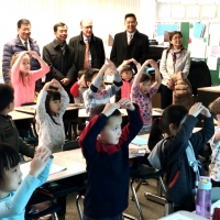 Mr. Lu Shaye, Chinese Ambassador to Canada, Visited Dovercourt School, October 26, 2017