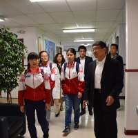 Visit from Affiliated Middle School of Jining Institute