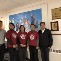 Visit from Confucius Institute in New Brunswick