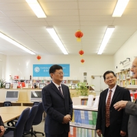 Shandong Provincial Education Department Delegation Visited CIE