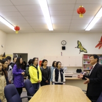Chinese University Delegation Visited CIE