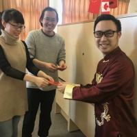 MLA Thomas Dang Brings Chinese New Year Greetings to CIE