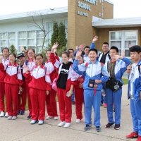 Affiliated Middle School of Jining Visited CIE