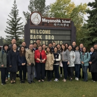 Chinese University Delegation Visited Meyonohk School