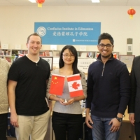 Dr. Zeuch and 3 Executive Directors of Concordia China Club Visited the CIE