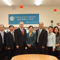 The Delegation from Consulate-General of China in Vancouver