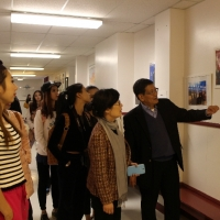 Zhejiang Normal University Troupe and China Gymnastic Skill Team Visited CIE