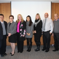 The Delegation from Coquitlam School Board Visited Edmonton Public School Board on Nov 17, 2014