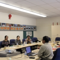 The Delegation from Confucius Institute at the University of Saskatchewan Visited CIE