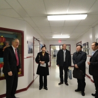 The Delegation from Consulate-General of China in Vancouvert Toured the Facilities