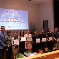 2016 YCT & HSK Scholarship Award Ceremony