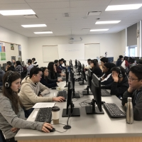 2019 HSK/YCT Test at School