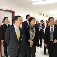 2017: Mr. Lu Shaye, the Chinese Ambassador to Canada, Visited CIE