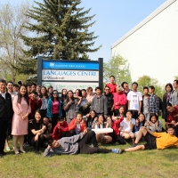 Chinese Culture Day for Students from Colonel Irvine School in Calgary