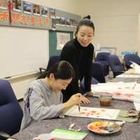 Chinese Painting Workshop for CIE Teachers