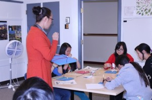Visit from Calgary Students